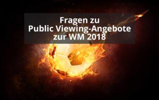 Fragen zu Public Viewing-Angebote zur WM 2018||Twitter-Meldung der Tourist-Information Otterndorf zum Public Viewing während der WM 2018