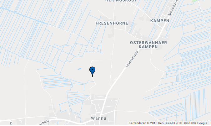 Karte - Der Wannaer See
