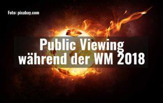 Public Viewing während der WM 2018