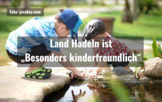 """Land Hadeln ist """"Besonders kinderfreundlich"""""""