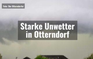 Starke Unwetter in Otterndorf  Starke Unwetter in Otterndorf