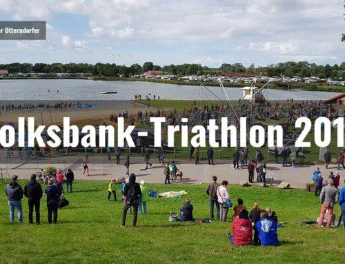 Das Volksbank-Triathlon 2018 wurde olympisch
