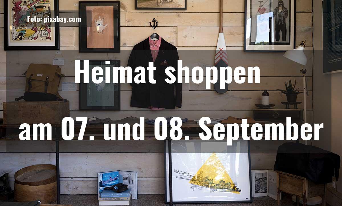 Heimat shoppen 2018  Heimat shoppen