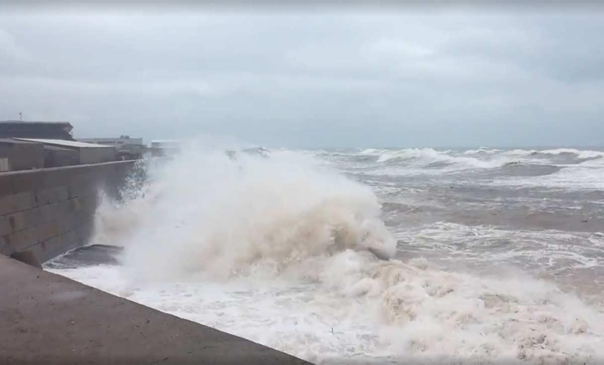 Erste Sturmflutwarnungen im Oktober 2018