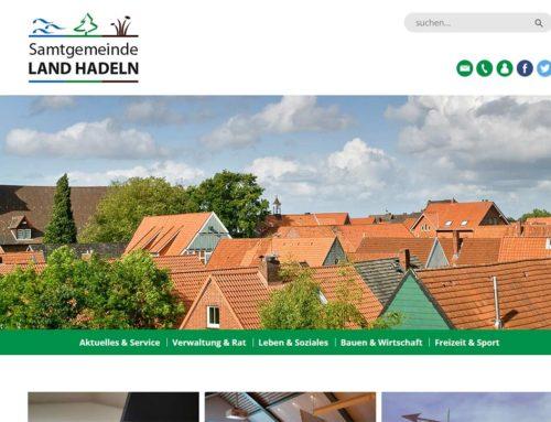 Samtgemeinde Land Hadeln mit neuer Internetpräsenz