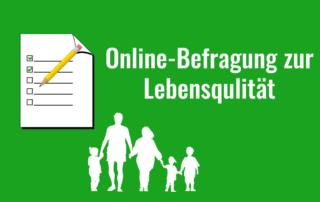 Online-Befragung zur Lebensqualität