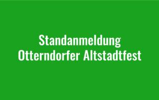 Standanmeldung für Otterndorfer Altstadtfest