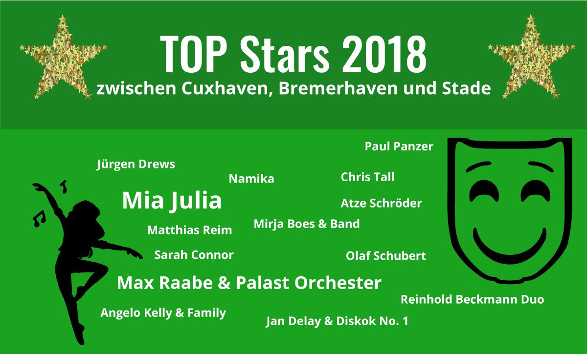 TOP-Stars 2018||Mia Julia 2018||Mia Julia 2018||Max Raabe - Der perfekte Moment... wird heut verpennt