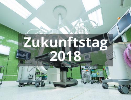 Zukunftstag 2018 beim Capio Krankenhaus