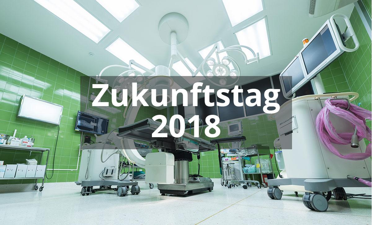 Zukunftstag 2018 beim Capio Krankenhaus in Otterndorf
