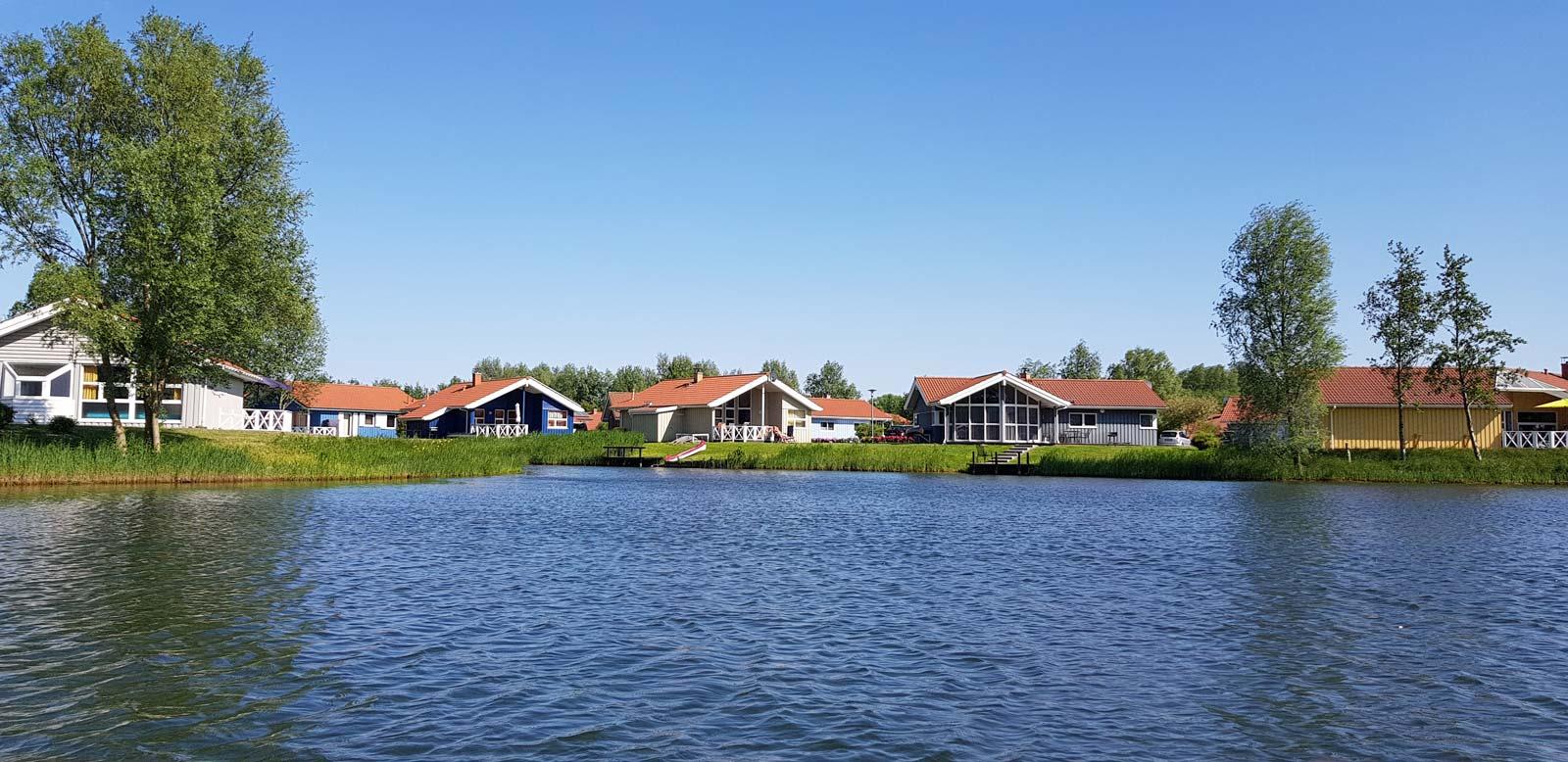 Ferienhäuser am See von Otterndorf