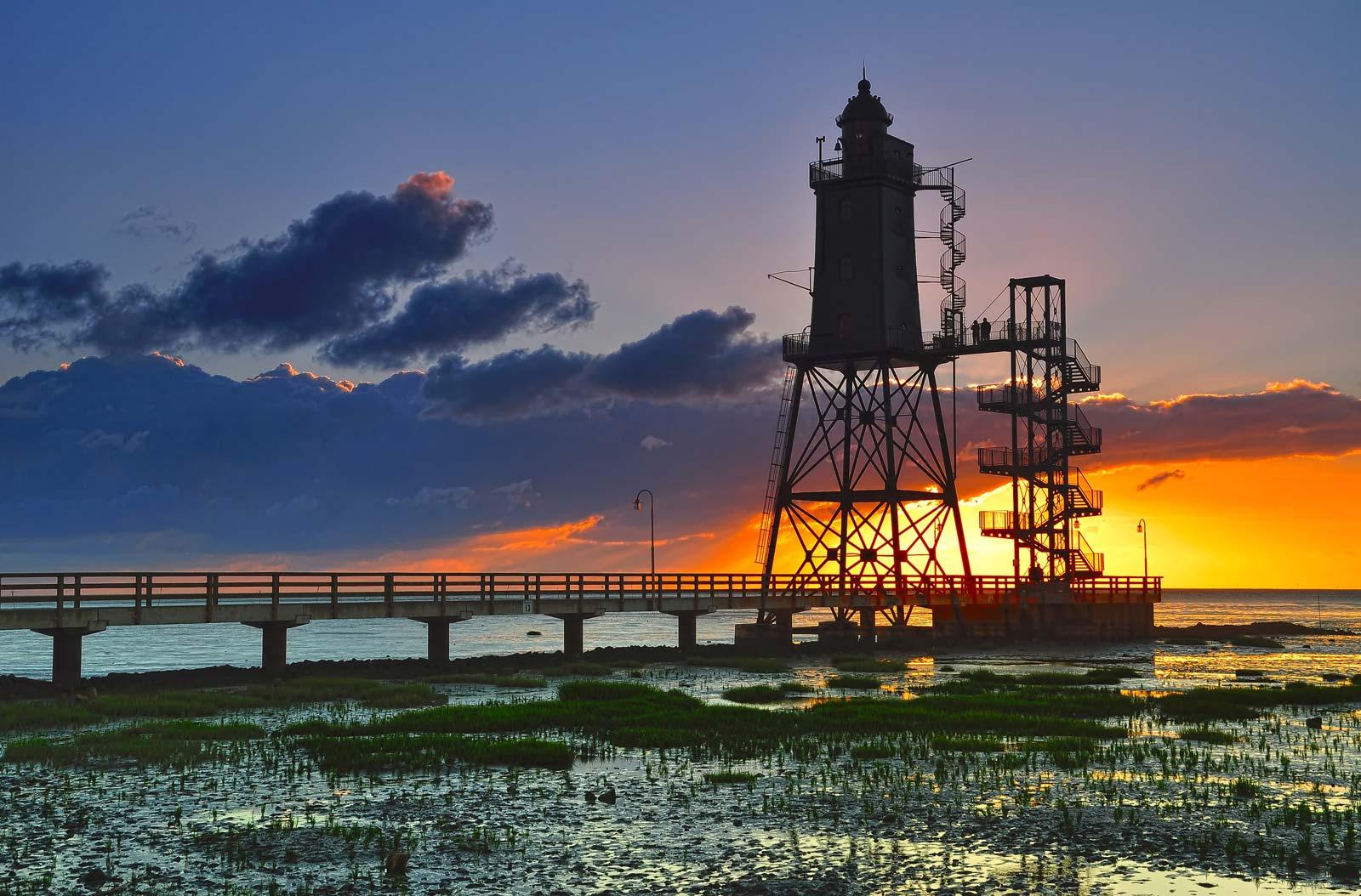 Leuchttürme an der Nordsee