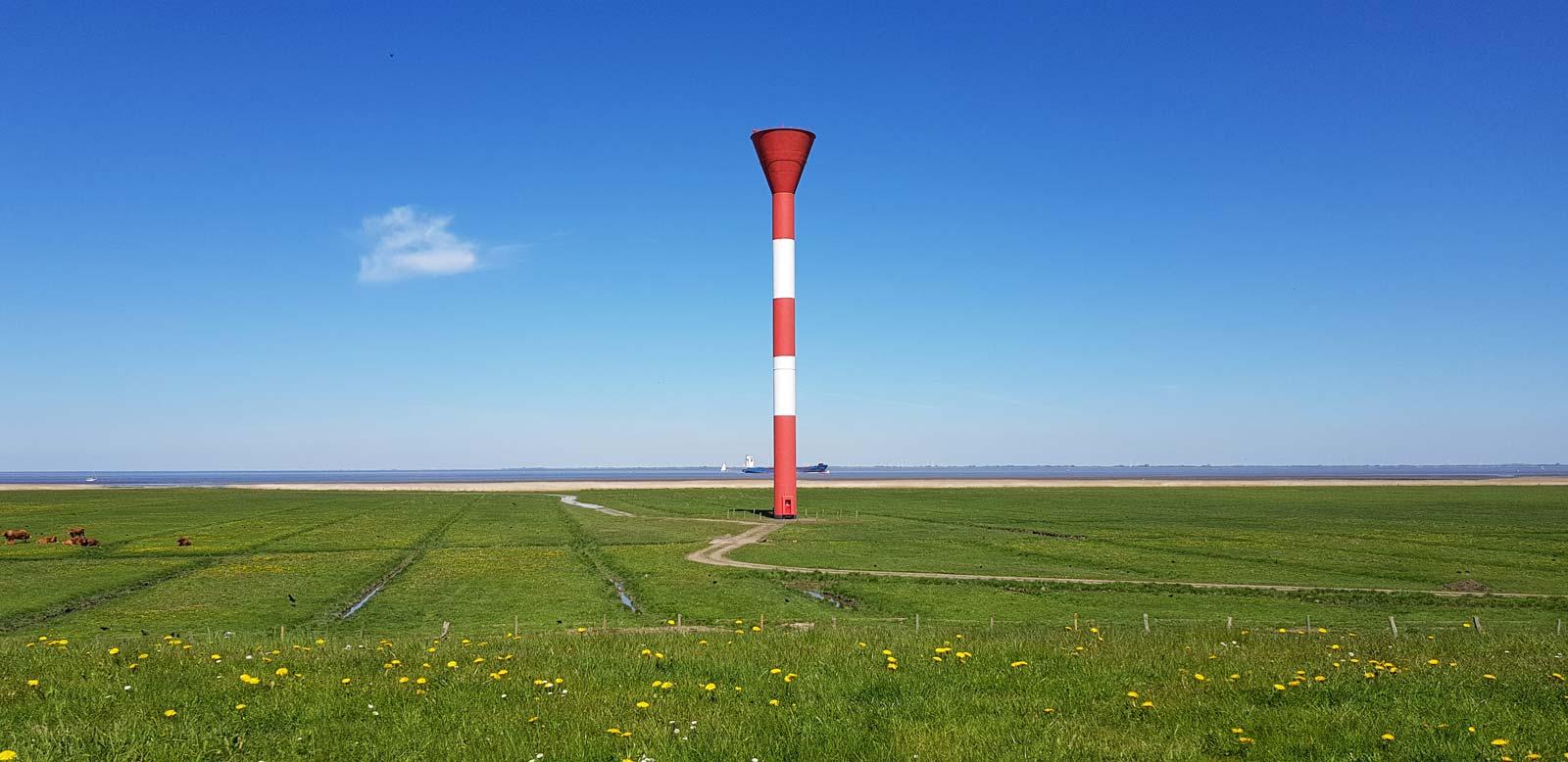 Der Leuchtturm vor Otterndorf