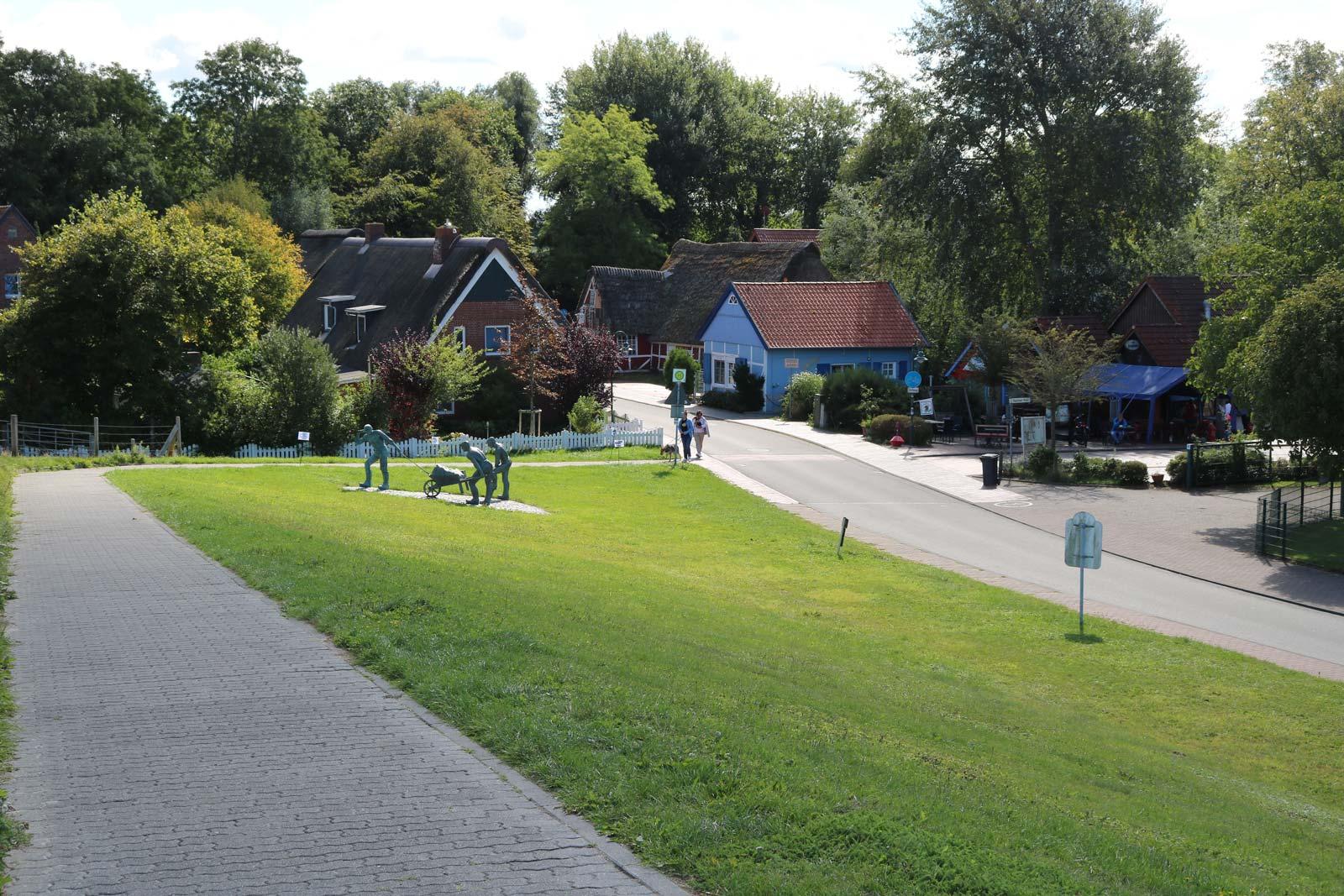 Schleusenumgebung von Otterndorf