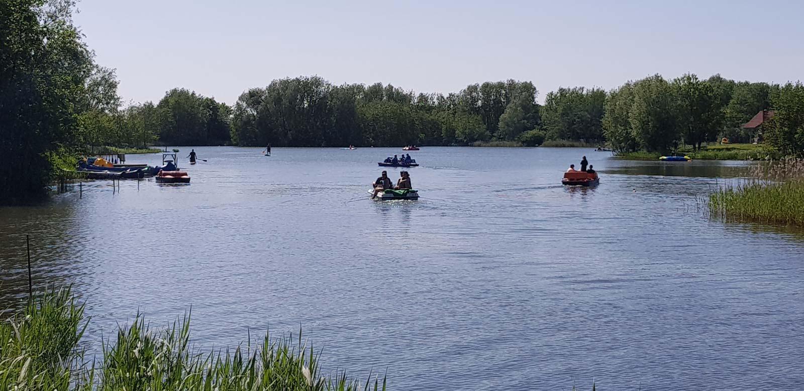 Südsee Wassersport im Feriengebiet Otterndorf