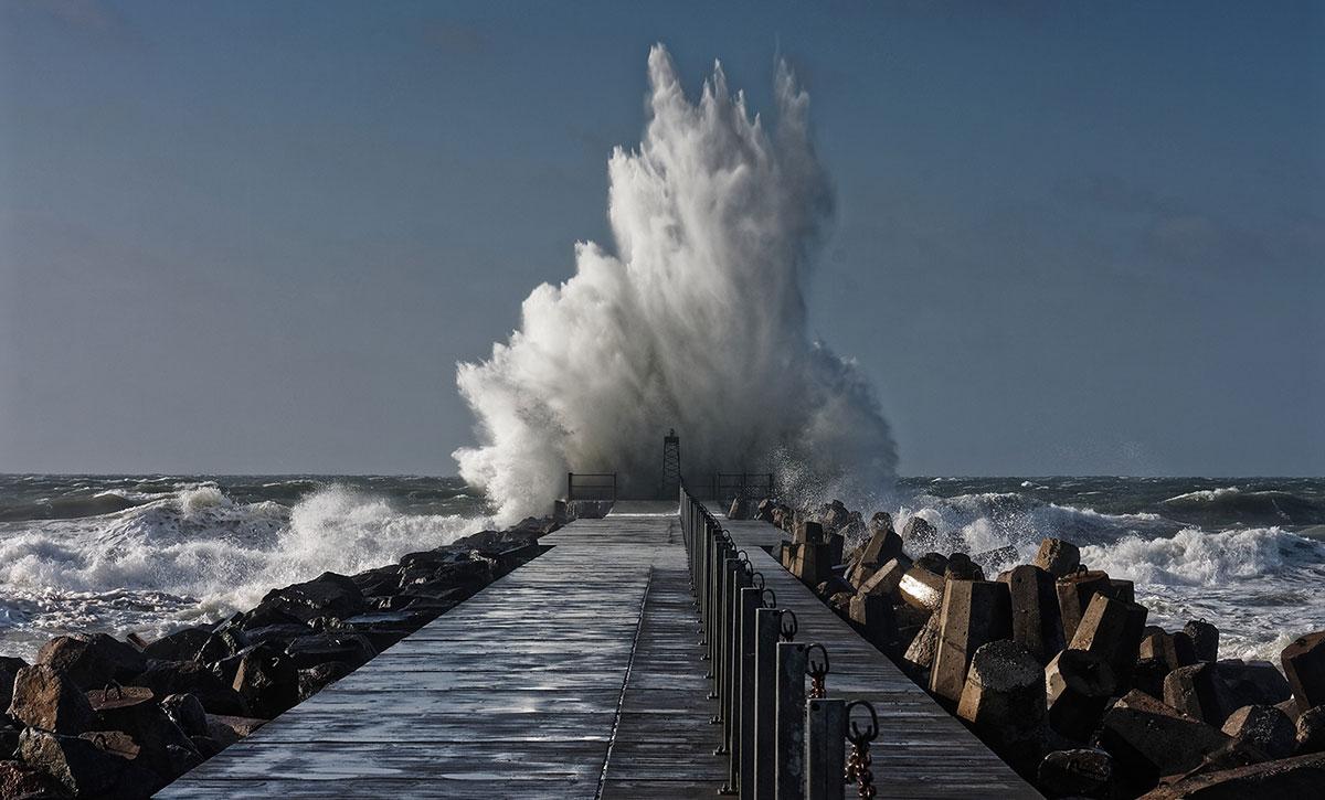 Sturmfluten an der Nordsee